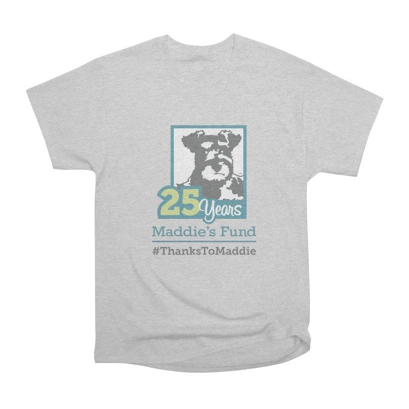 25th Anniversary Logo Light Colors Men's Heavyweight T-Shirt by Maddie Shop