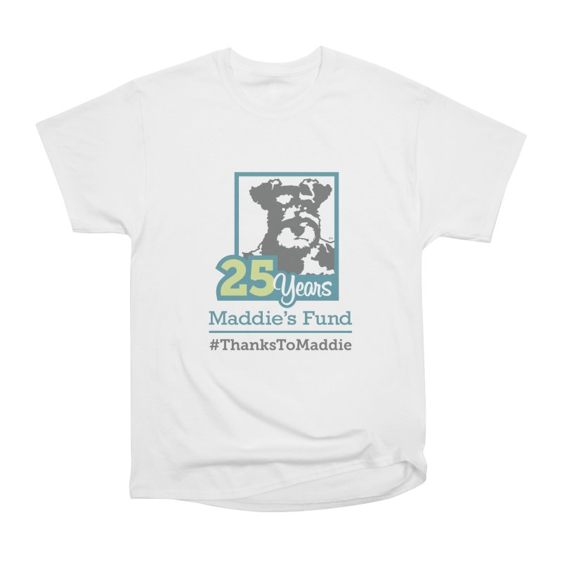 25th Anniversary Logo Light Colors Women's Heavyweight Unisex T-Shirt by Maddie Shop