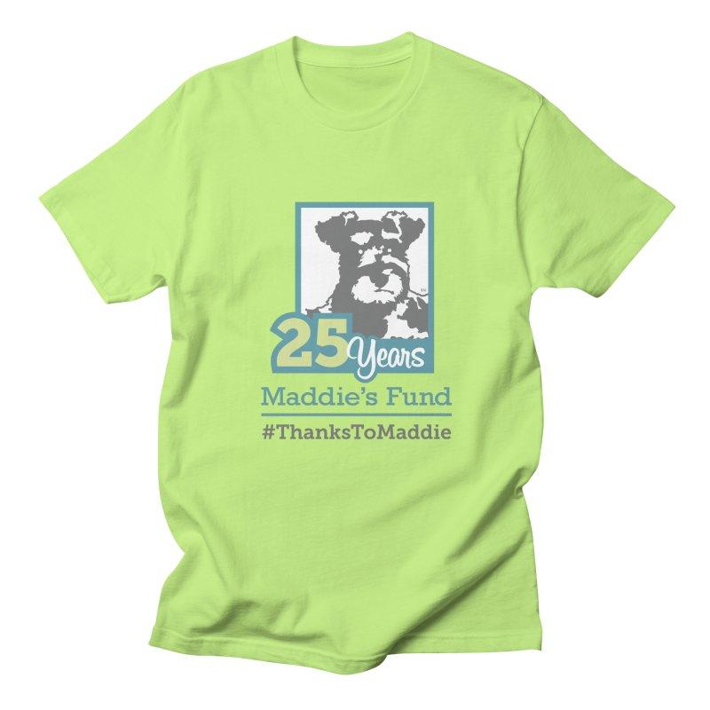 25th Anniversary Logo Light Colors Men's Regular T-Shirt by Maddie Shop