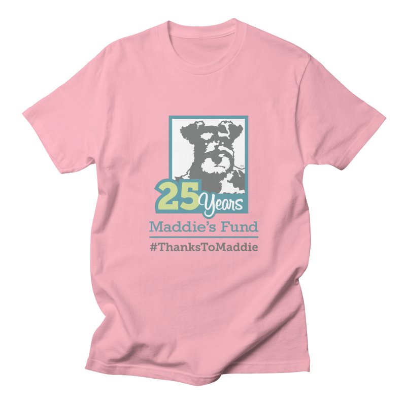 25th Anniversary Logo Light Colors Men's Regular T-Shirt by Maddie Shop