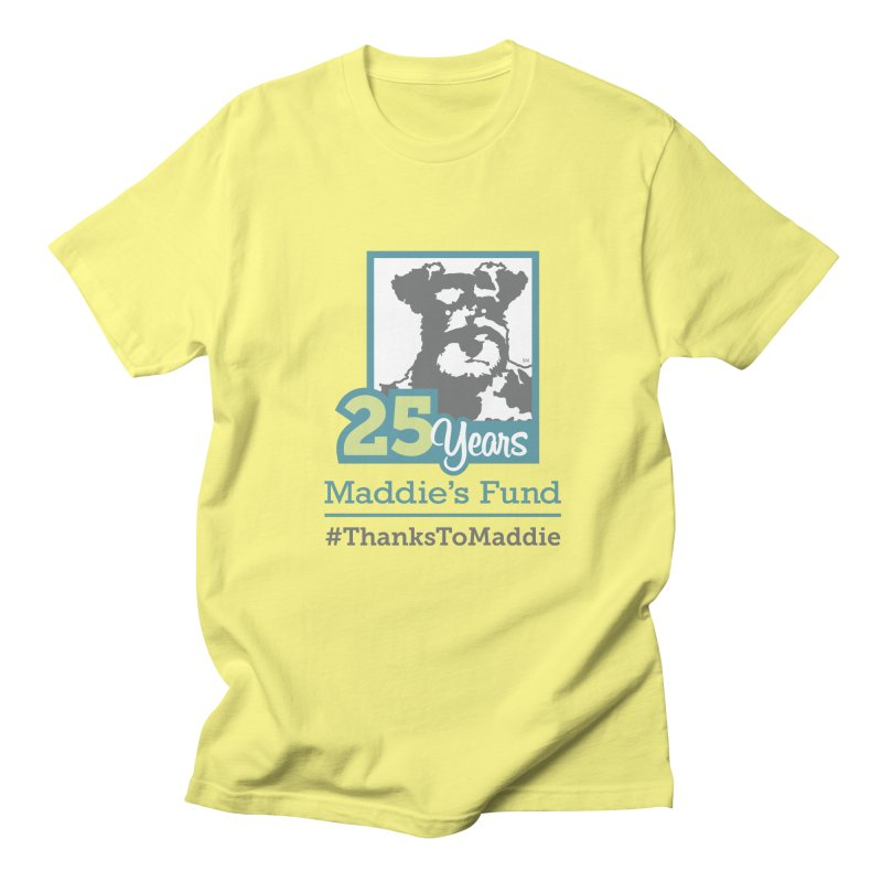 25th Anniversary Logo Light Colors Men's T-Shirt by Maddie Shop