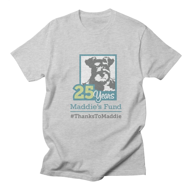 25th Anniversary Logo Light Colors Women's Regular Unisex T-Shirt by Maddie Shop