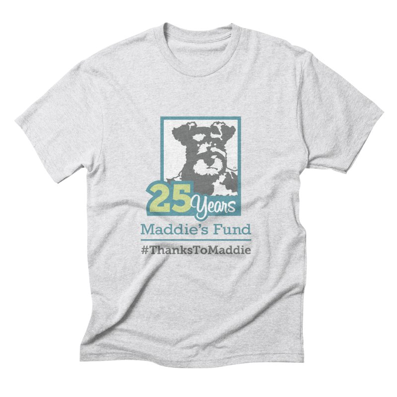 25th Anniversary Logo Light Colors Men's Triblend T-Shirt by Maddie Shop