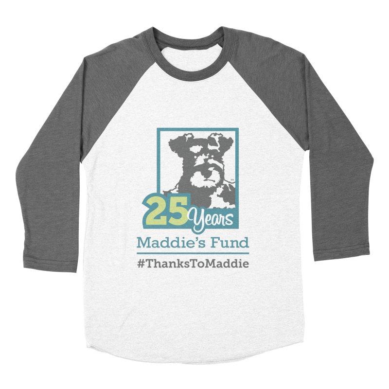 25th Anniversary Logo Light Colors Women's Baseball Triblend Longsleeve T-Shirt by Maddie Shop