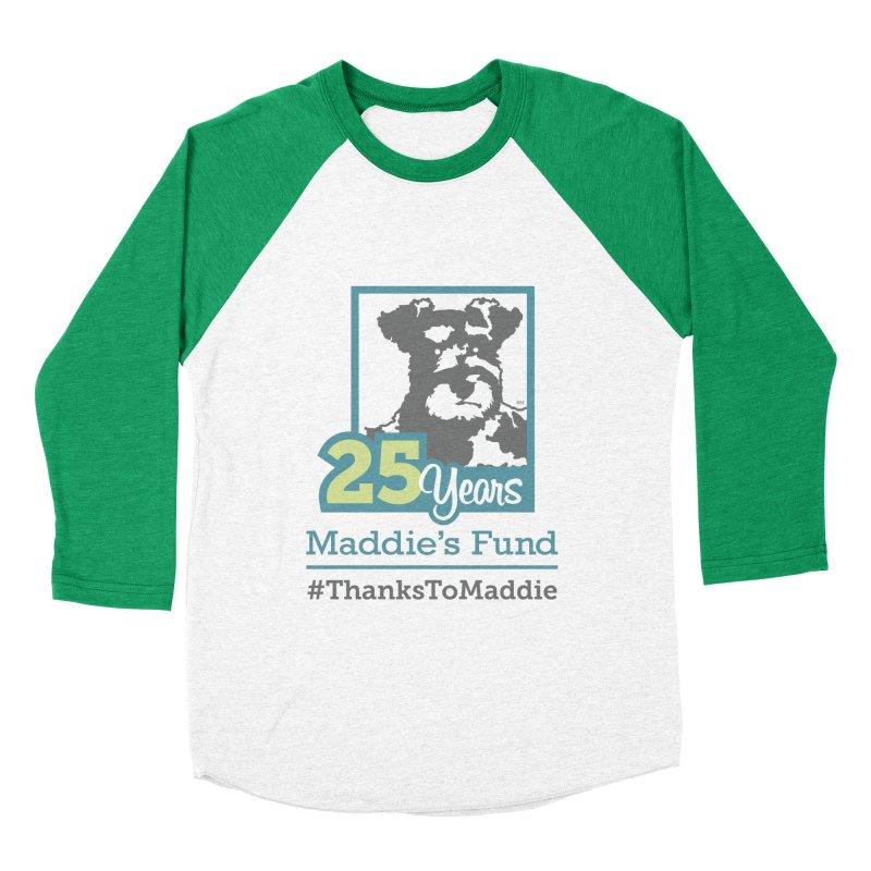 25th Anniversary Logo Light Colors Men's Baseball Triblend Longsleeve T-Shirt by Maddie Shop