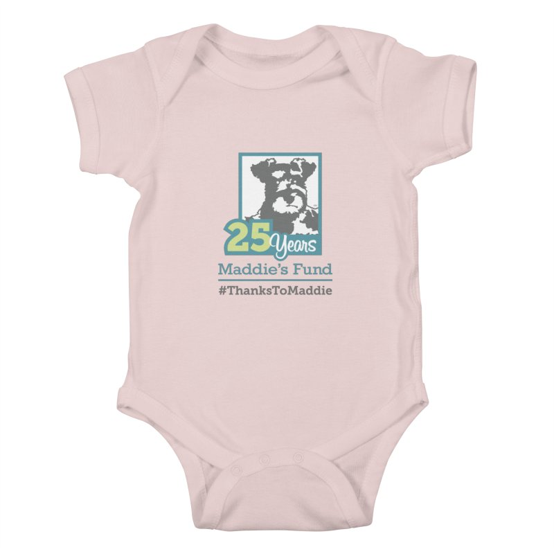 25th Anniversary Logo Light Colors Kids Baby Bodysuit by Maddie Shop