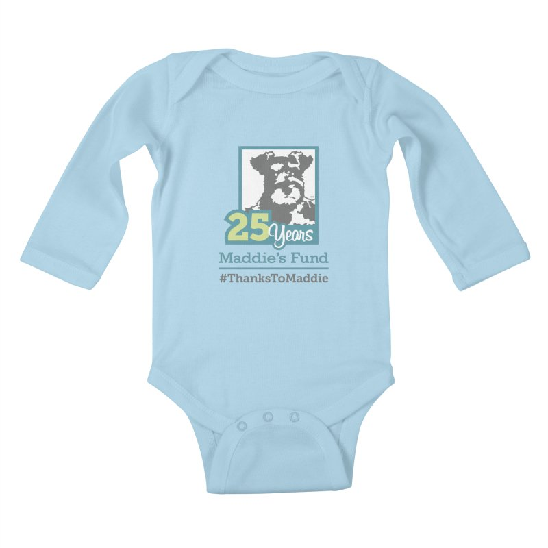 25th Anniversary Logo Light Colors Kids Baby Longsleeve Bodysuit by Maddie Shop