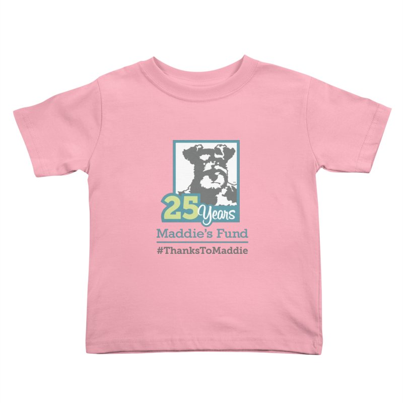 25th Anniversary Logo Light Colors Kids Toddler T-Shirt by Maddie Shop