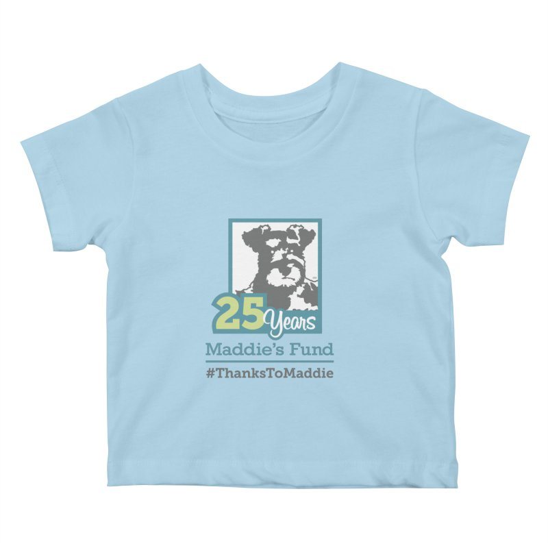 25th Anniversary Logo Light Colors Kids Baby T-Shirt by Maddie Shop