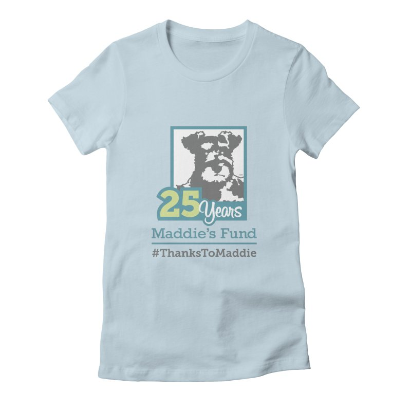 25th Anniversary Logo Light Colors Women's T-Shirt by Maddie Shop