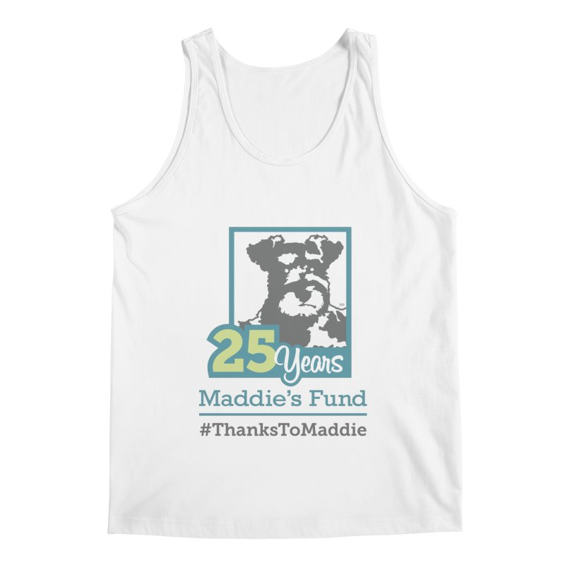 25th Anniversary Logo Light Colors Men's Regular Tank by Maddie Shop