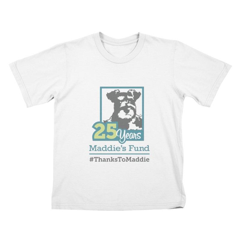 25th Anniversary Logo Light Colors Kids T-Shirt by Maddie Shop