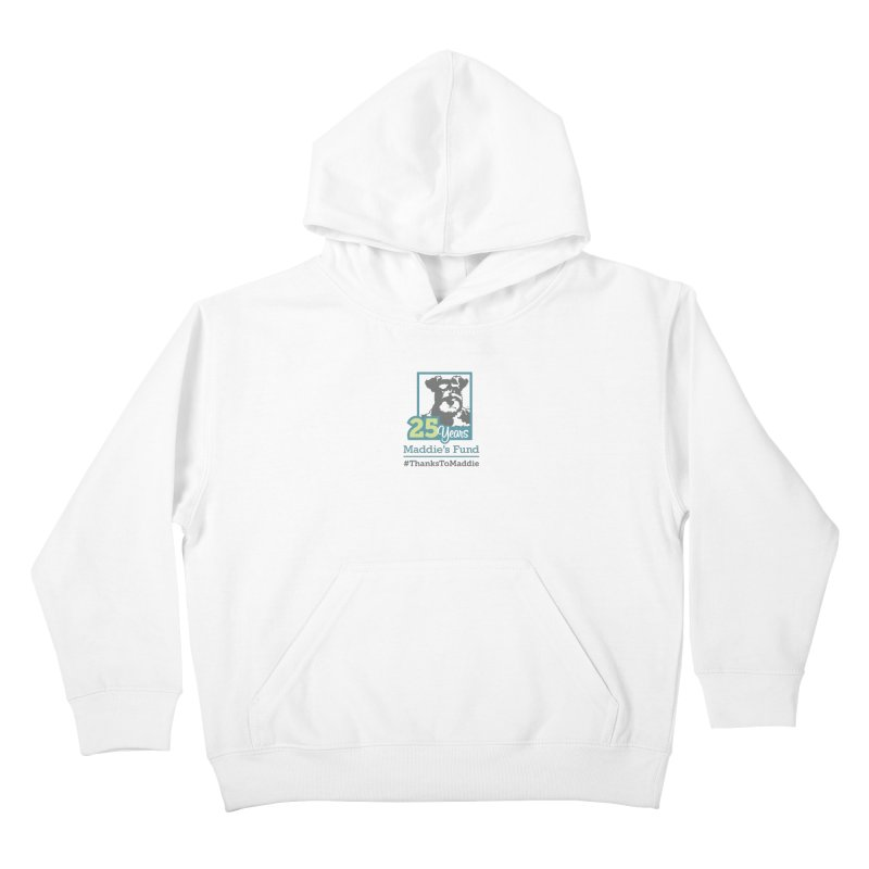 25th Anniversary Logo Light Colors Kids Pullover Hoody by Maddie Shop