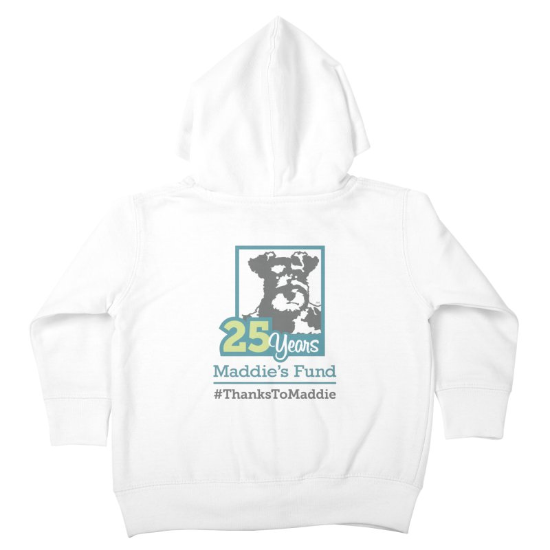 25th Anniversary Logo Light Colors Kids Toddler Zip-Up Hoody by Maddie Shop