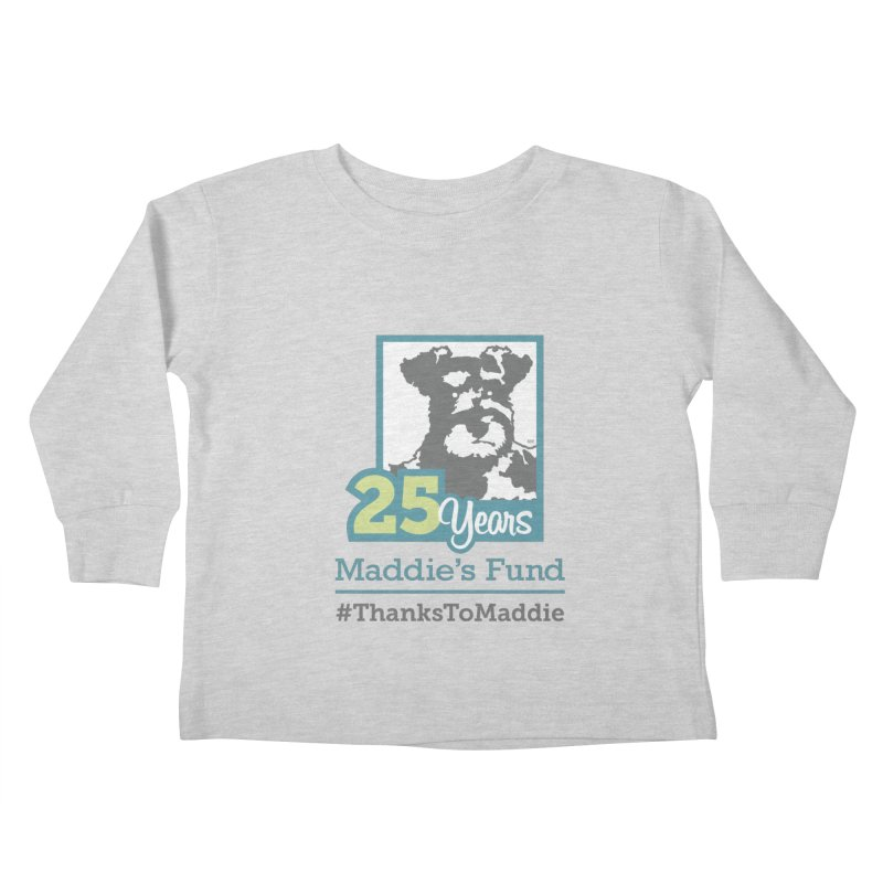 25th Anniversary Logo Light Colors Kids Toddler Longsleeve T-Shirt by Maddie Shop