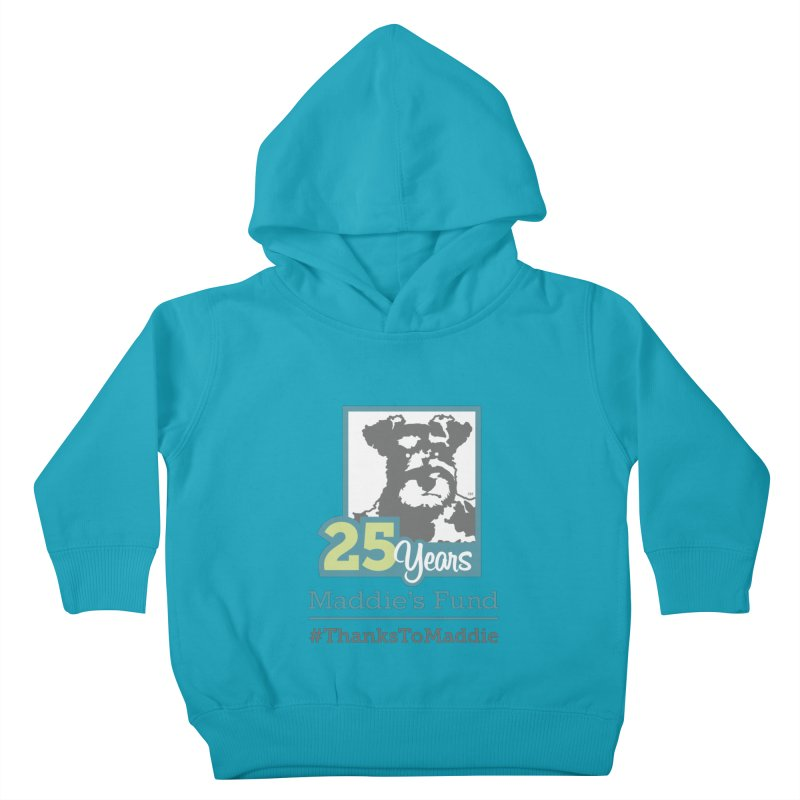 25th Anniversary Logo Light Colors Kids Toddler Pullover Hoody by Maddie Shop