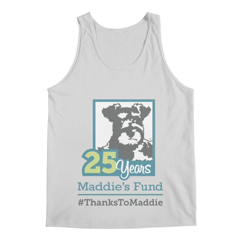 25th Anniversary Logo Light Colors Men's Regular Tank by Maddie Shop