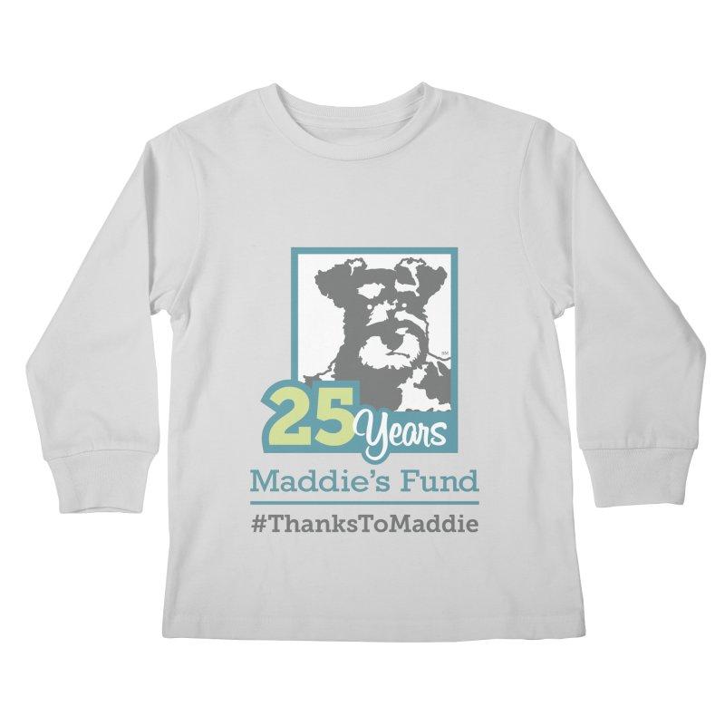 25th Anniversary Logo Light Colors Kids Longsleeve T-Shirt by Maddie Shop