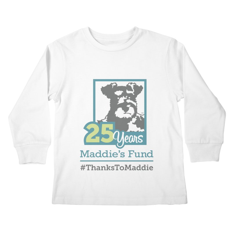 25th Anniversary Logo Light Colors Kids Longsleeve T-Shirt by Maddie Shop