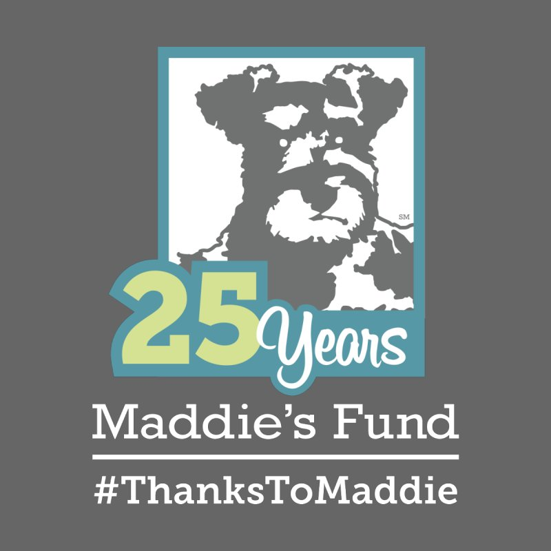 25th Anniversary Logo Dark Colors by Maddie Shop