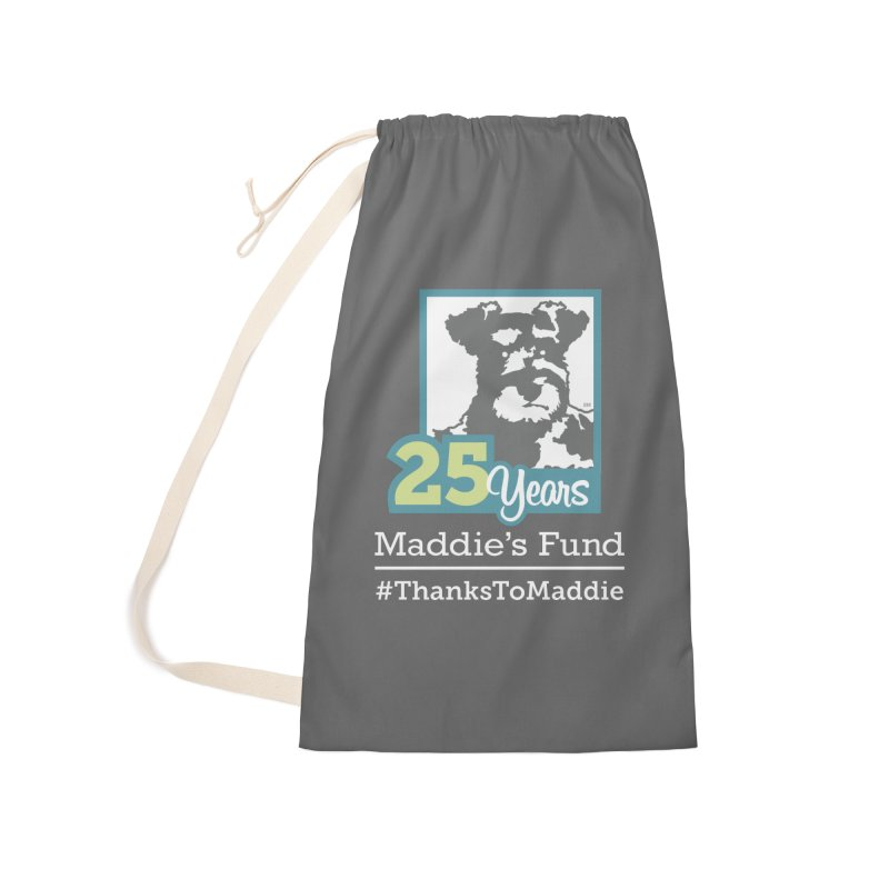 25th Anniversary Logo Dark Colors Accessories Laundry Bag Bag by Maddie Shop