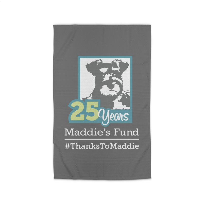 25th Anniversary Logo Dark Colors Home Rug by Maddie Shop