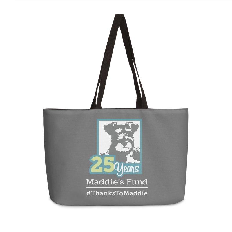 25th Anniversary Logo Dark Colors Accessories Weekender Bag Bag by Maddie Shop