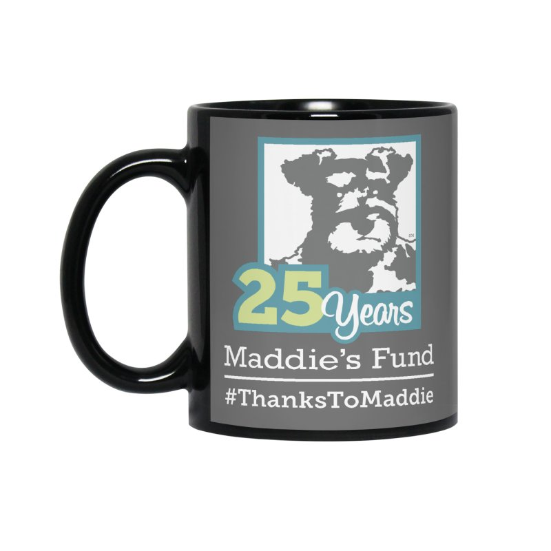 25th Anniversary Logo Dark Colors Accessories Standard Mug by Maddie Shop