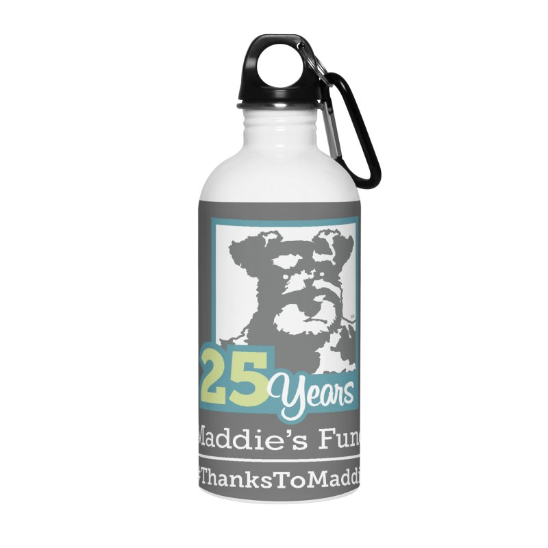 25th Anniversary Logo Dark Colors Accessories Water Bottle by Maddie Shop