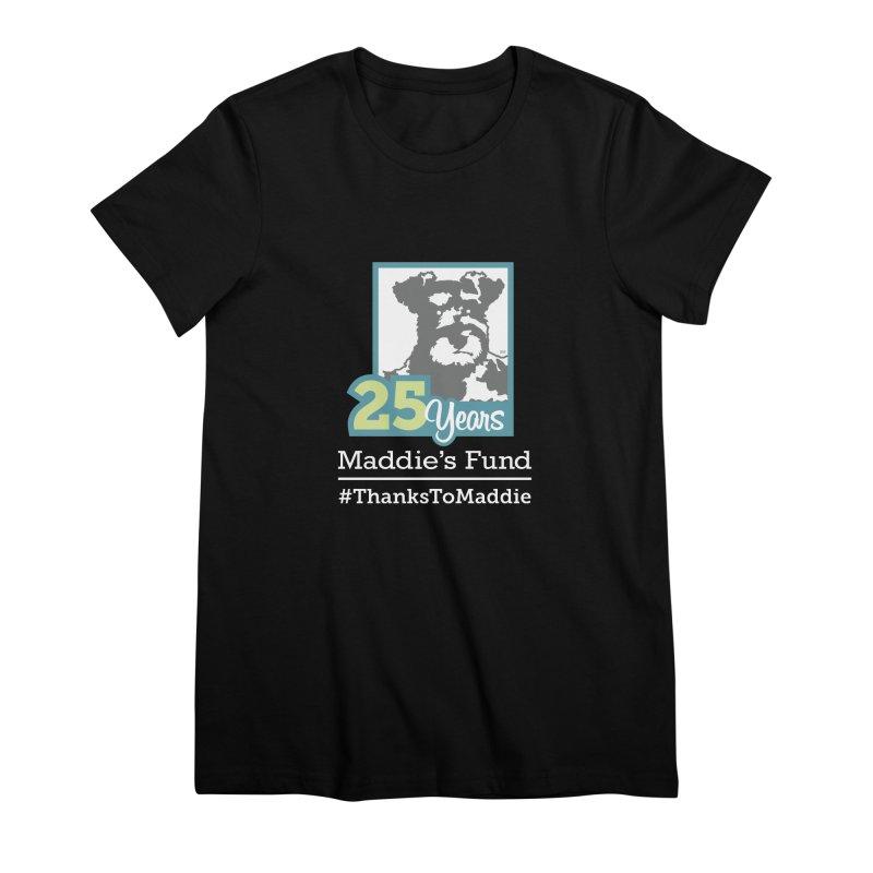 25th Anniversary Logo Dark Colors Women's Premium T-Shirt by Maddie Shop