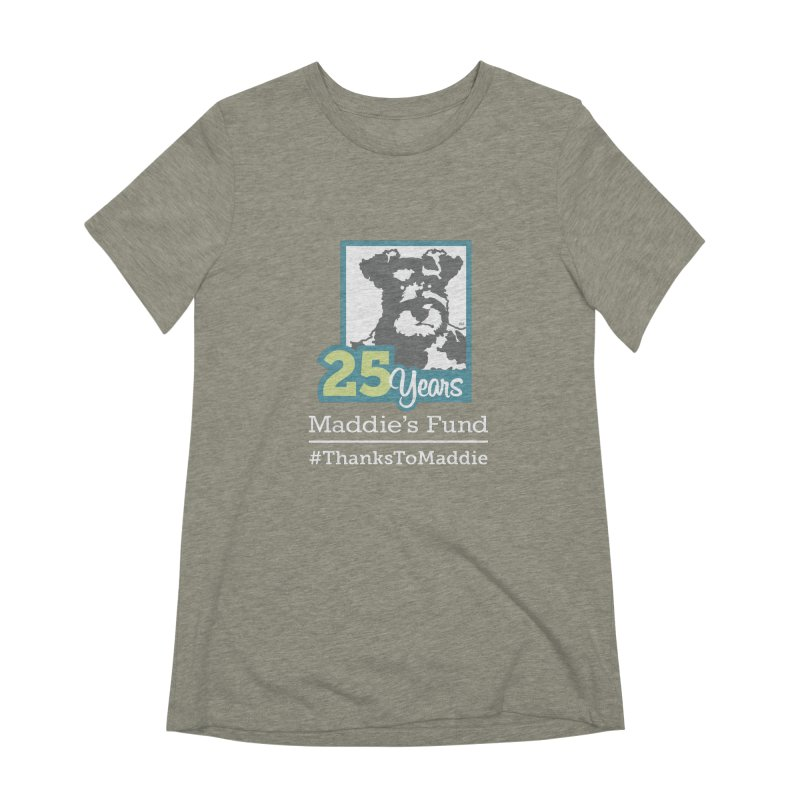 25th Anniversary Logo Dark Colors Women's Extra Soft T-Shirt by Maddie Shop