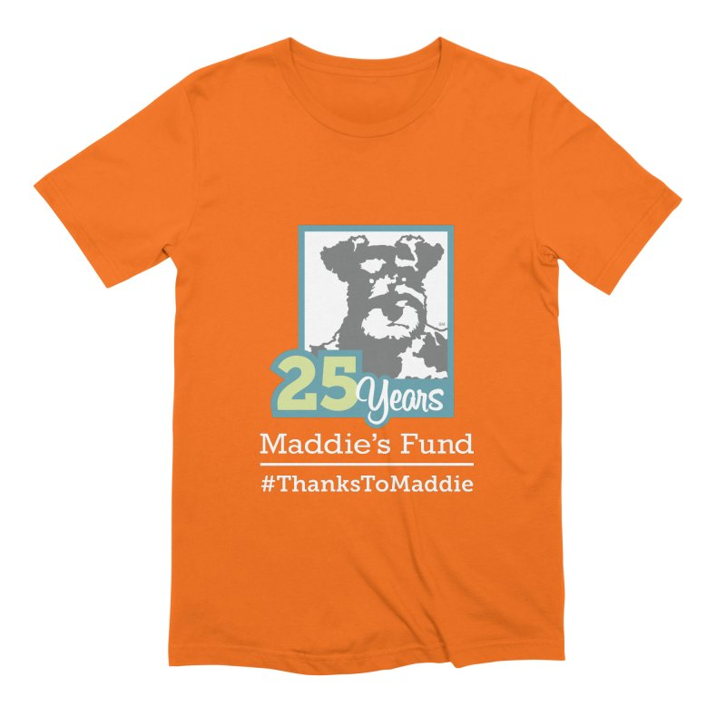 25th Anniversary Logo Dark Colors Men's Extra Soft T-Shirt by Maddie Shop