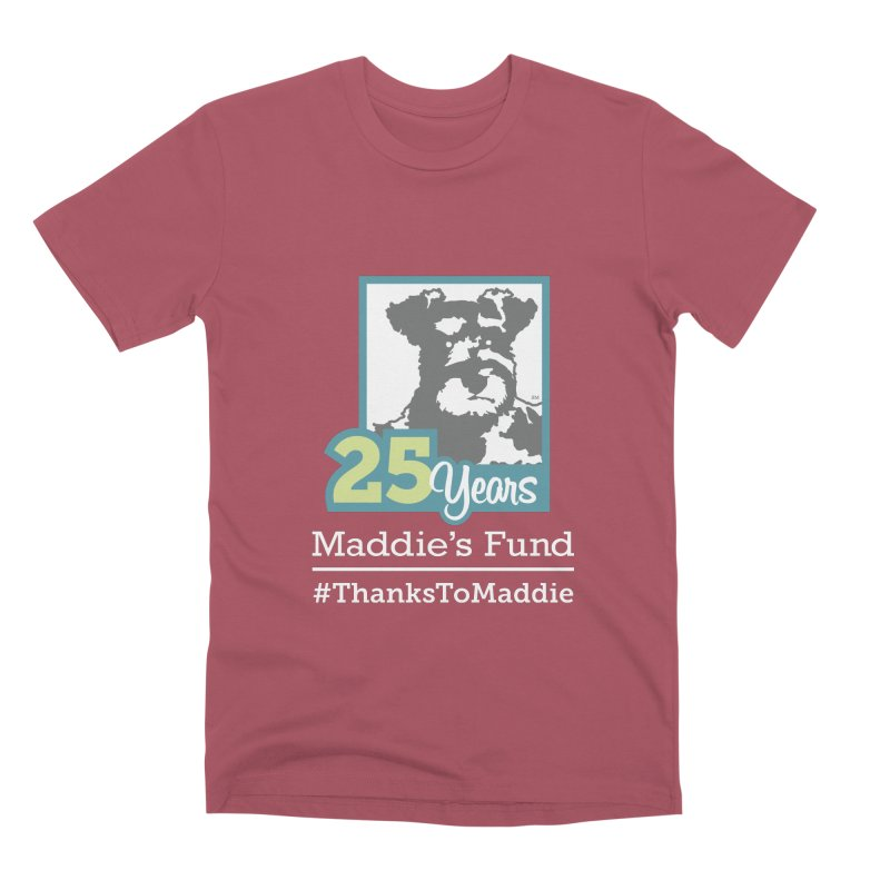 25th Anniversary Logo Dark Colors Men's Premium T-Shirt by Maddie Shop