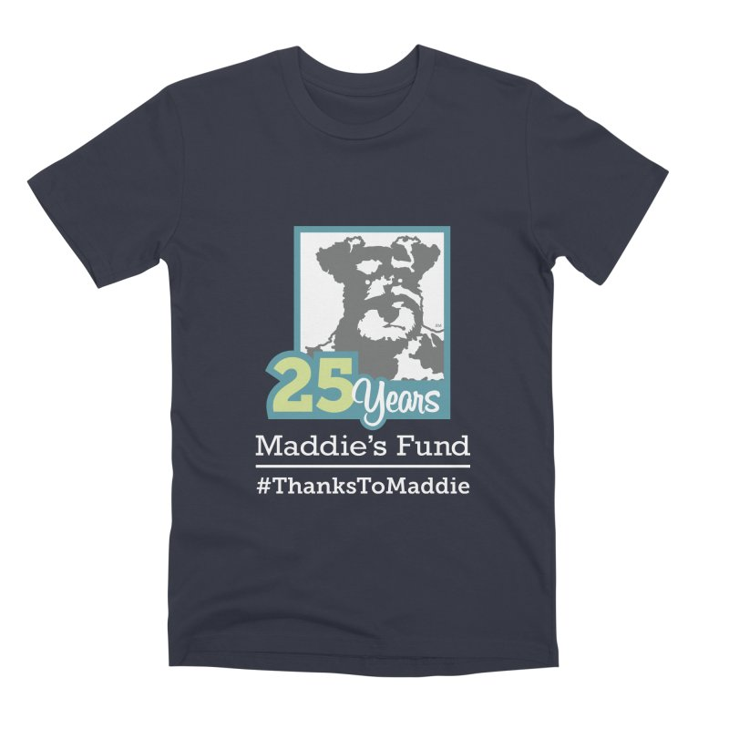 25th Anniversary Logo Dark Colors Men's Premium T-Shirt by Maddie Shop