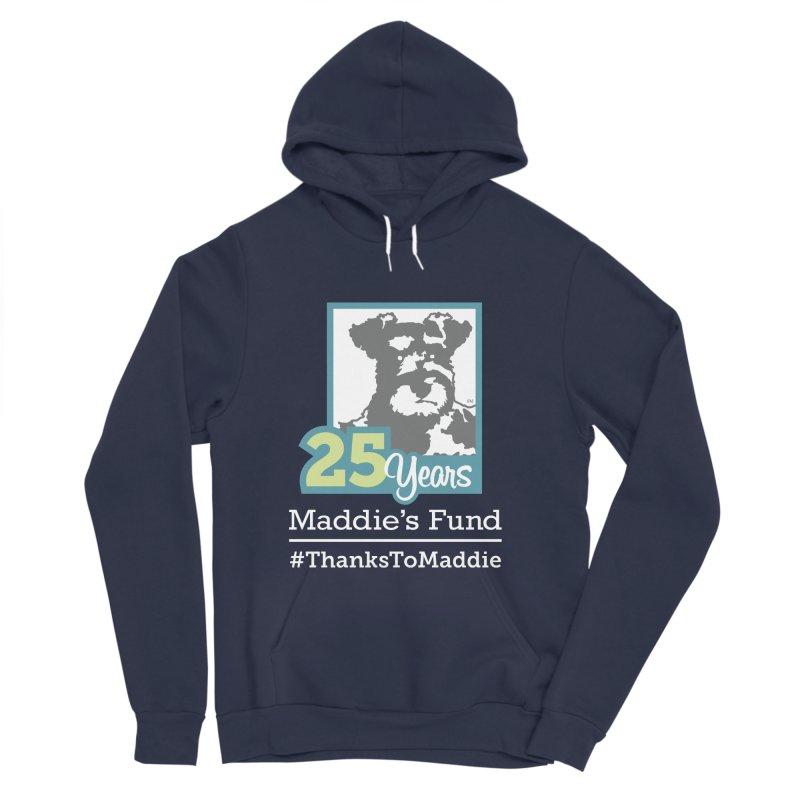 25th Anniversary Logo Dark Colors Women's Sponge Fleece Pullover Hoody by Maddie Shop