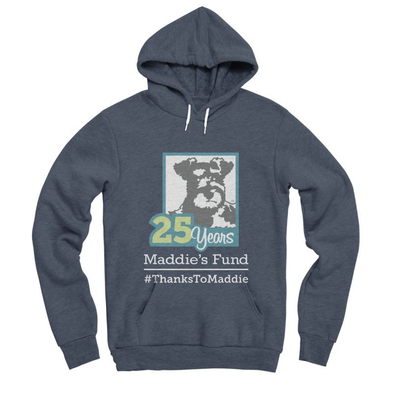 25th Anniversary Logo Dark Colors Women's Sponge Fleece Pullover Hoody by Maddie Shop