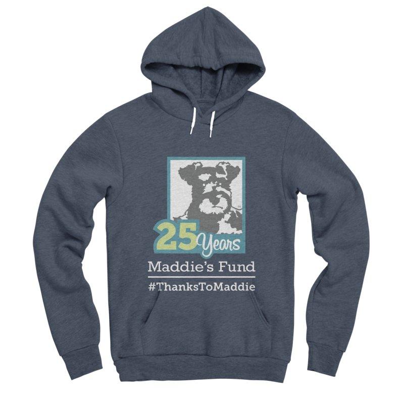 25th Anniversary Logo Dark Colors Men's Sponge Fleece Pullover Hoody by Maddie Shop