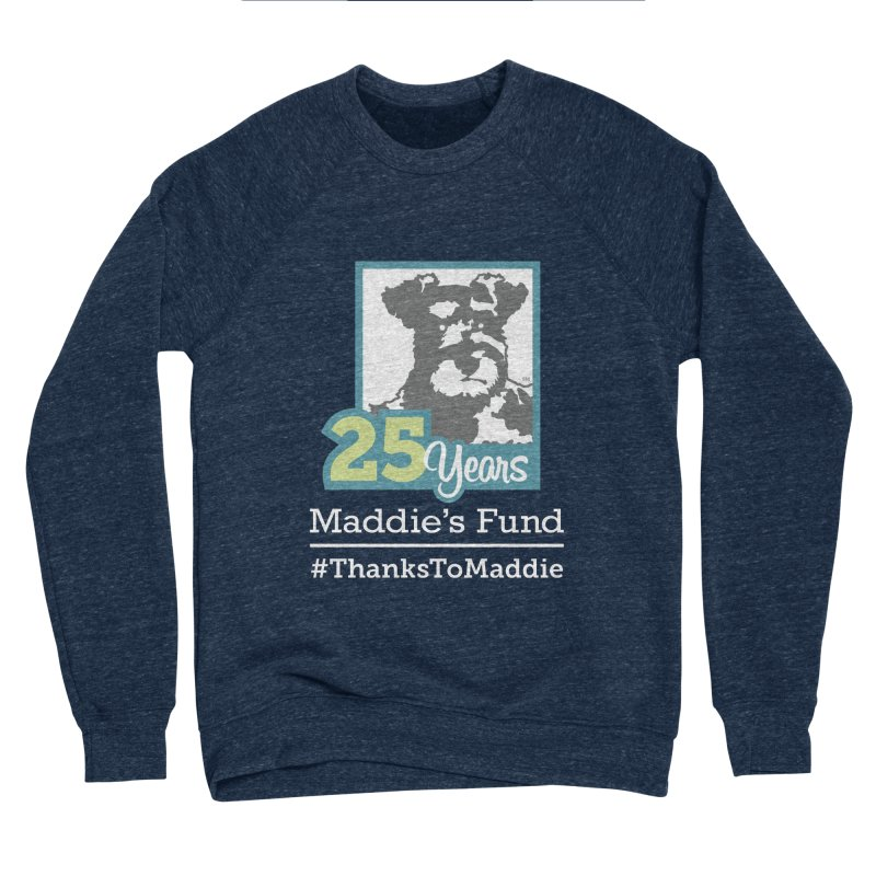 25th Anniversary Logo Dark Colors Women's Sponge Fleece Sweatshirt by Maddie Shop