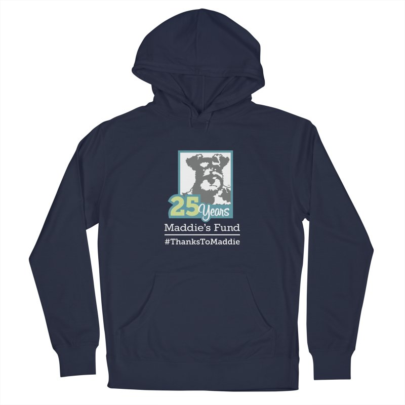 25th Anniversary Logo Dark Colors Men's Pullover Hoody by Maddie Shop
