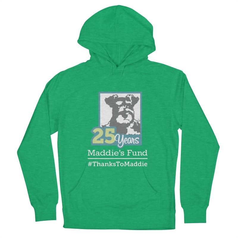 25th Anniversary Logo Dark Colors Women's French Terry Pullover Hoody by Maddie Shop
