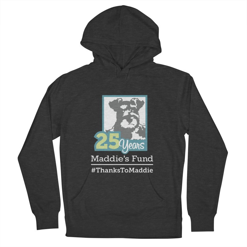 25th Anniversary Logo Dark Colors Men's French Terry Pullover Hoody by Maddie Shop