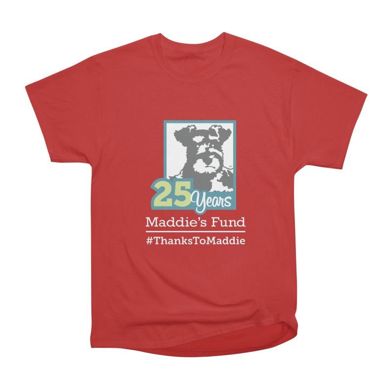 25th Anniversary Logo Dark Colors Men's Heavyweight T-Shirt by Maddie Shop