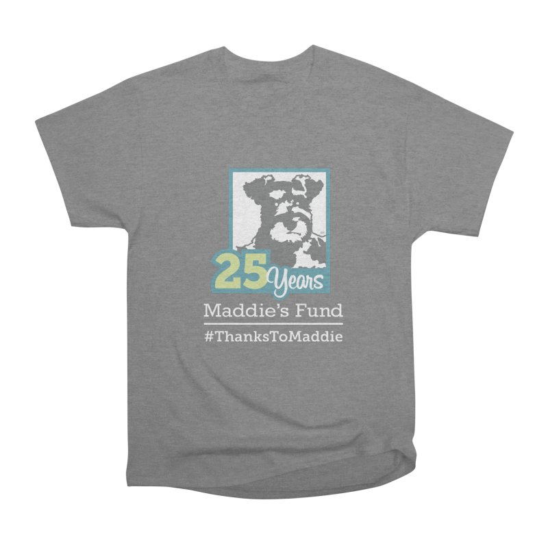 25th Anniversary Logo Dark Colors Women's Heavyweight Unisex T-Shirt by Maddie Shop