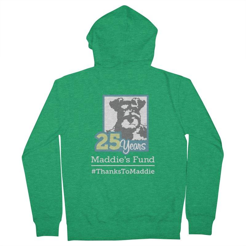 25th Anniversary Logo Dark Colors Men's Zip-Up Hoody by Maddie Shop