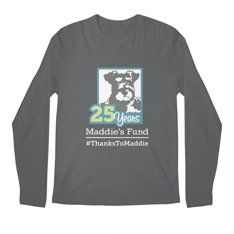 25th Anniversary Logo Dark Colors Men's Regular Longsleeve T-Shirt by Maddie Shop