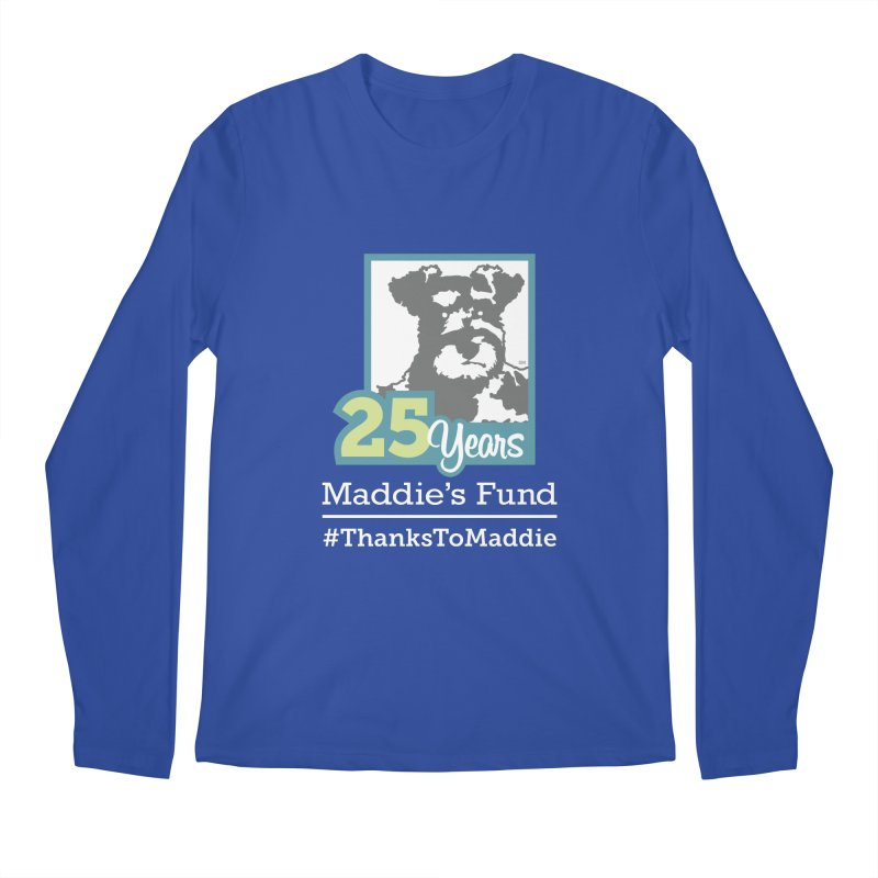 25th Anniversary Logo Dark Colors Men's Regular Longsleeve T-Shirt by Maddie Shop