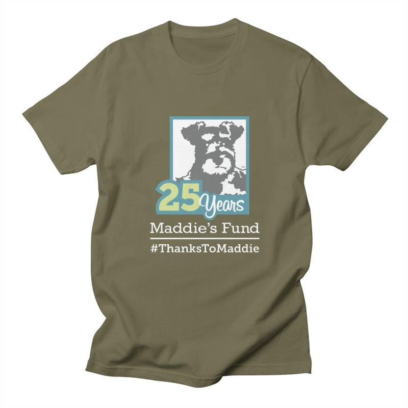 25th Anniversary Logo Dark Colors Men's T-Shirt by Maddie Shop