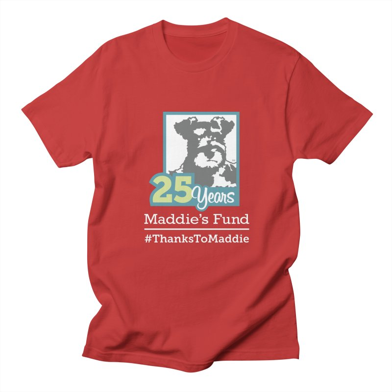 25th Anniversary Logo Dark Colors Men's T-Shirt by Maddie Shop