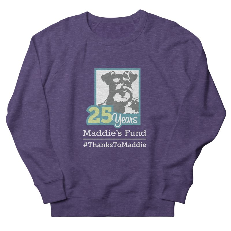 25th Anniversary Logo Dark Colors Women's French Terry Sweatshirt by Maddie Shop