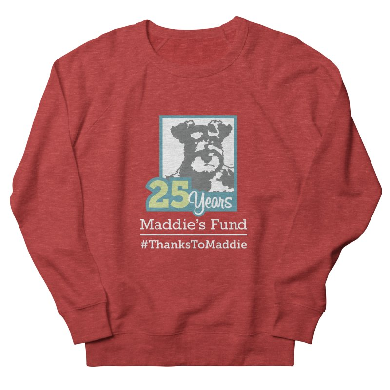 25th Anniversary Logo Dark Colors Men's French Terry Sweatshirt by Maddie Shop